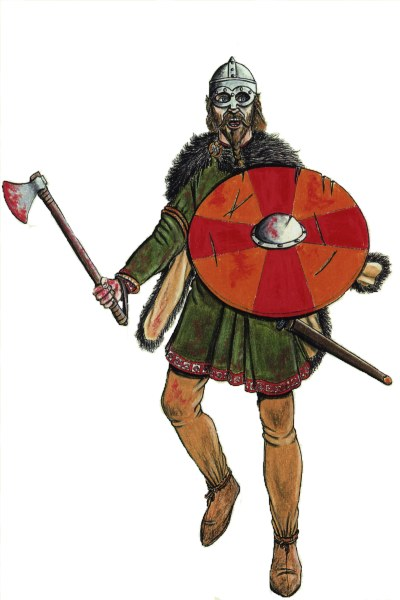 scandinavian warrior 10th century